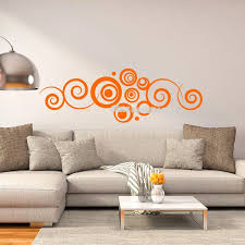 Creative Conventional Fantasy Wall Decal Personality Circle Pattern Vinyl For Living Room Bedroom Home Decor Art Wallpaper Ea470 Wall Stickers Aliexpress