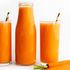 blender carrot juice with tropical