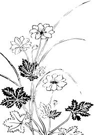 Svg النباتات زهور نباتي رسم صورة Svg أيقونة Svg Silh
