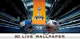 nfl super bowl 3d live wallpaper get