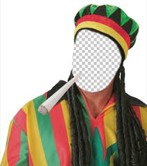 get dressed as rastafarian with this