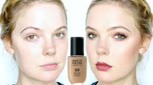 make up for ever water blend foundation