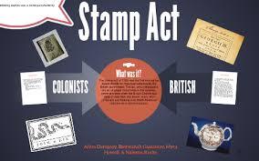 Stamp Act by Nalexus Stocks on Prezi Next