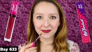 caked makeup lip fondant review