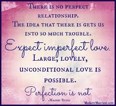 embracing imperfect love love marriage quotes unconditional