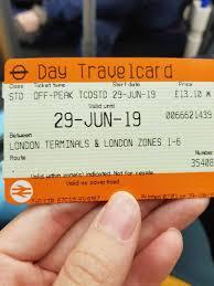 london travelcard in london united