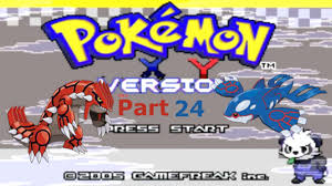 Pokémon X and Y GBA Hack Rom Walkthrough #24: Final Town! - YouTube