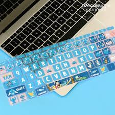 Stitch Keyboard Sticker Cover For Macbook Pro And Air Decal Etsy