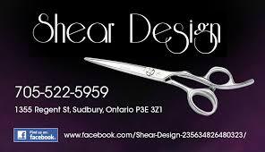 shear design sudbury on hair