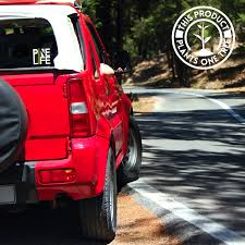 Pine Life Car Decal