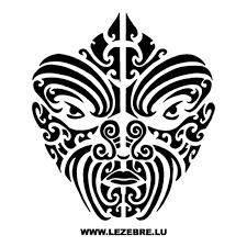 Tribal Maori Sticker