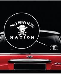 No Shoes Nation Kenny Chesney Decal Sticker Midwest Sticker Shop