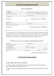 contrat en format word gratuit