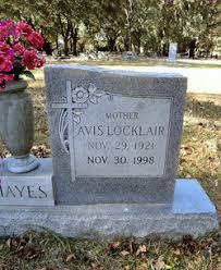 Avis Jessie Locklair Hayes (1921-1998) - Find A Grave Memorial