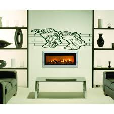 Shop Christmas Socks By The Fireplace Wall Art Sticker Decal Red Overstock 11803990