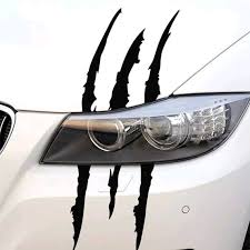 2x Funny Car Sticker Car Accessories Vinyl Stickers Monster Etsy