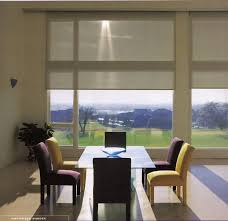 roller shades sliding glass doors