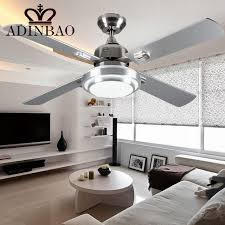 modern ceiling fans with bright lights