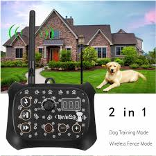 Tf68 Waterproof Rechargeable Wireless Elecric Dog Fence Trainer Fencing Training System Free Shipping Thanksbuyer