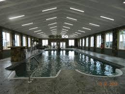 new cabin indoor pool astounding