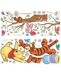 York Wallcoverings Winnie The Pooh Swinging For Honey Peel And Stick Giant Wall Decals Reviews All Wall Decor Home Decor Macy S