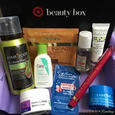 target may 2016 beauty box review