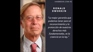 Ronald Dworkin y su filosofia - YouTube