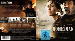 The Homesman Tommy Lee Jones Hilary Swank Cover Blu Ray Deutsch ...