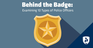 examining 10 types of police officers