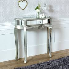 wooden half moon round console table