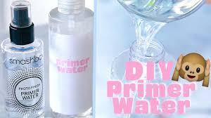 make your own smashbox primer water