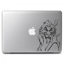 Disney Lion King Scar S Snarl Apple Macbook Air Pro 11 13 15 17 Vinyl Decal Sticker Dreamy Jumpers
