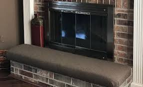 baby proofing a fireplace hearth