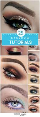 eyebrows tutorials to perfect your look