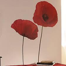 Charlton Home Poppies Wall Decal Reviews Wayfair