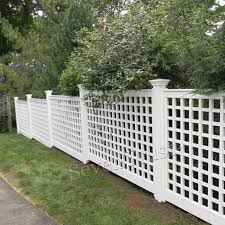 Safety Outdoor Deck Railing Supplier Lattice Fence Lattice Fence Panels Privacy Fence Designs