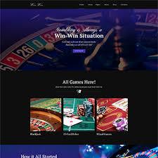 Template 64702 : WinWin - Casino Website WordPress Theme WordPress ...