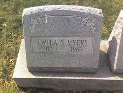 Twila S. Myers (1910-1985) - Find A Grave Memorial