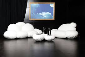 creative design sofa as a cloud dizajno