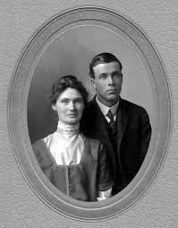Towne / Bowditch Family History - Charles and Ada (Morris) Earl, probably  at the time of their marriage, 10 April 1907.