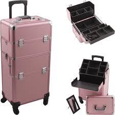 professional makeup case on wheels uk