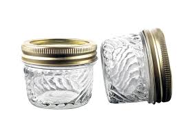 10 oz kitchen wide mouth glass jars