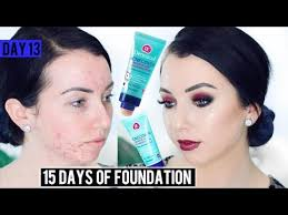 dermacol acnecover foundation acne fair