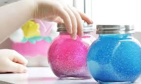 calming glitter jar aka mind jar