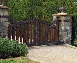Tungsten Royce California S 1 Custom Wood Manufacturer Entrance Gates Driveway Entrance Gates Design Wooden Garden Gate