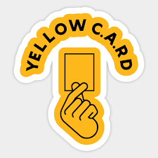 Iu Yellow Card Korean Heart Sticker Teepublic