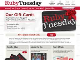 ruby tuesday gift card balance check