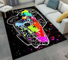 2020 Doormat Red Colorful Car Graffiti Cool Living Room Area Rugs Childrens Room Cushion Bedroom Floor Carpets Bathroom Non Slip Mat From Roberte 32 7 Dhgate Com
