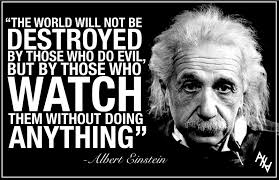 quotes albert einstein quotes evil quotesgram