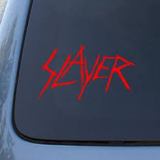 Slayer Vinyl Decal Sticker A1370 Vi Buy Online In Cambodia At Desertcart